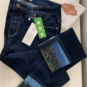 Soft Surroundings Provence Ankle Jeans (NWT)